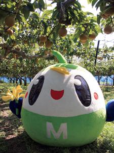 明和町のイメージキャラクター「メイちゃん」